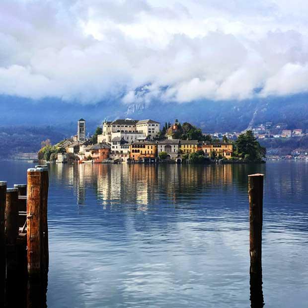ריטריט טיפולאטיס באגמים באיטליה