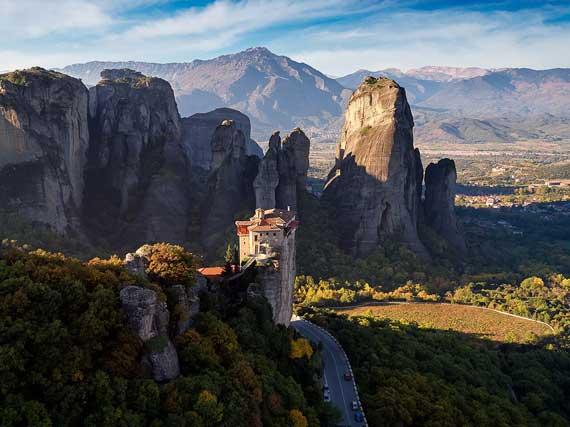 מטאורה - מנזר תלוי